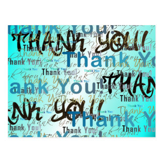 Postcard sz Thank you Card - Business & Personal