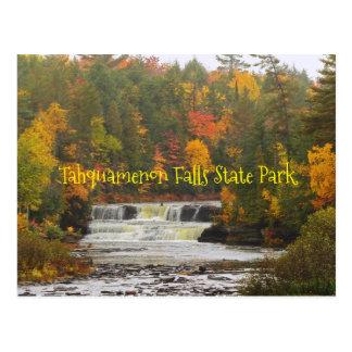 postcard, Tahquamenon Falls State Park, Michigan Postcard