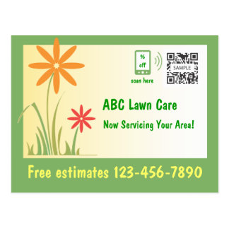 Postcard Template Lawn Care