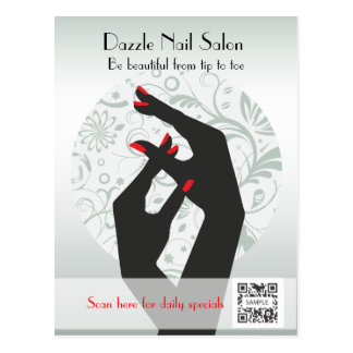 Postcard Template Nail Salon