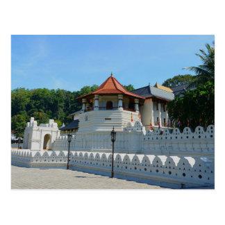 Postcard Temple off the Tooth, Kandy, Sri Lanka