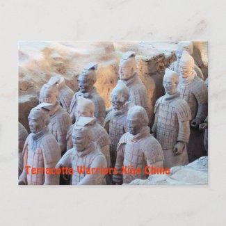 POSTCARD - Terracotta Warriors Xián China postcard