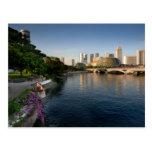 Postcard The Esplanade, Singapore