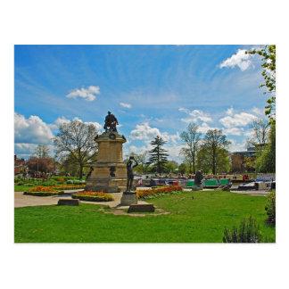 Postcard The Gower Memorial, Stratford-upon-Avon
