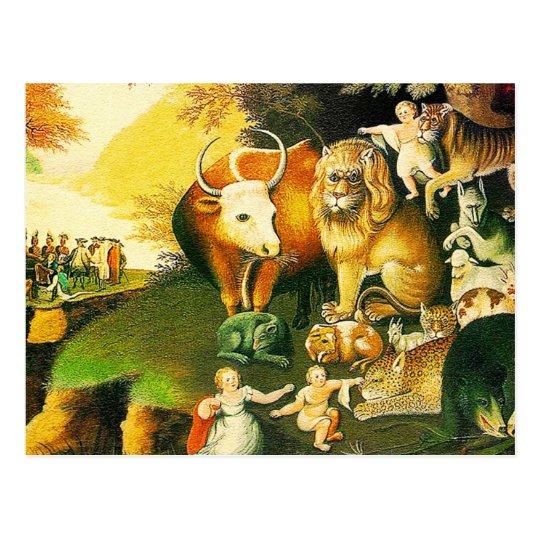 Postcard: The Peaceable Kingdom Postcard