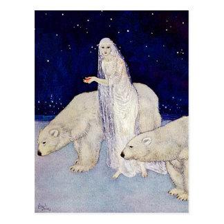 Postcard: The Snow Maiden Postcard