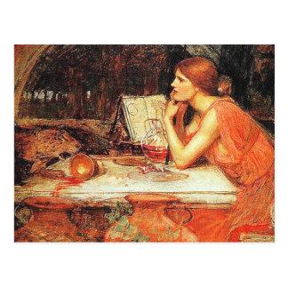 "Postcard: ""The Sorceress"" by John Waterhouse"