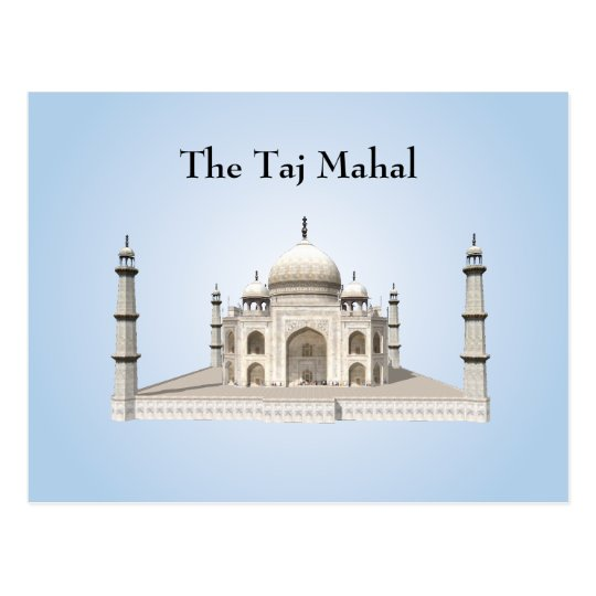 Postcard: The Taj Mahal Postcard
