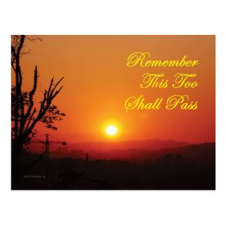 Postcard - This 2 Shall Pass