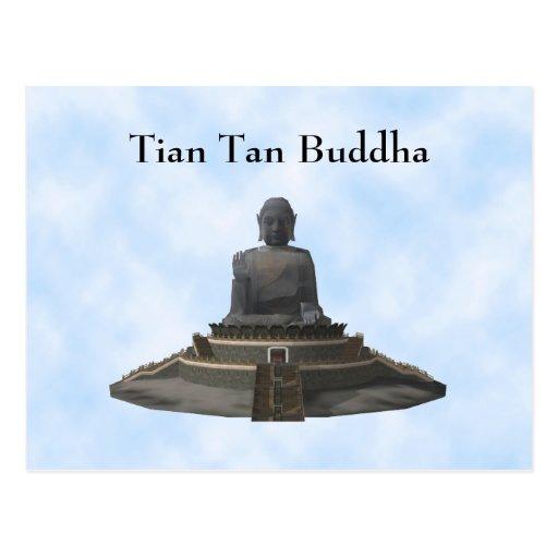 Postcard: Tian Tan Buddha: Big Buddha