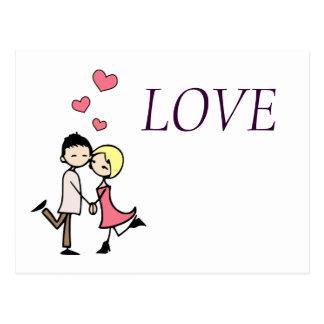 Postcard Together of Mano Love