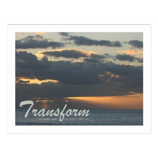 "Postcard ""Transform"""