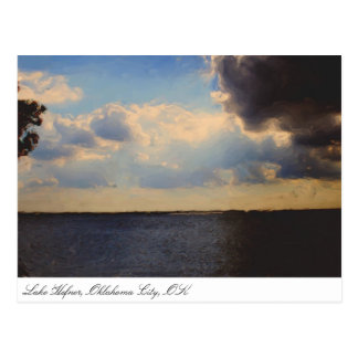 Postcard ~ Travel Oklahoma City, OK Lake Hefner