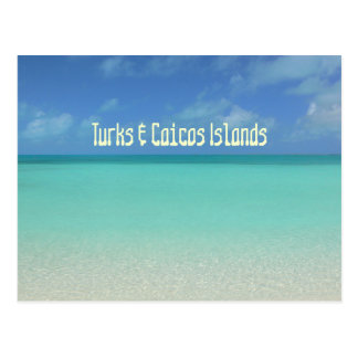 "postcard, ""TURKS & CAICOS ISLANDS"" Postcard"