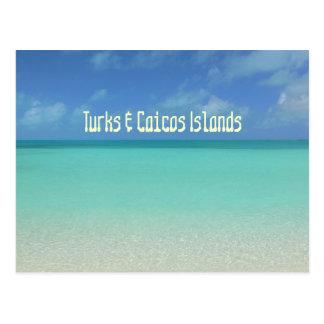 "postcard, ""TURKS & CAICOS ISLANDS"" Postcard"