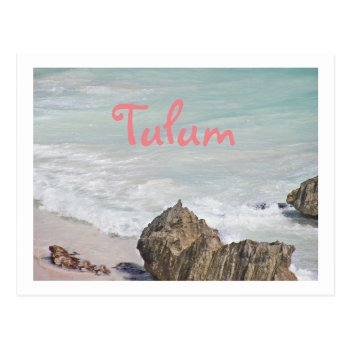 Postcard/ Turquoise Water Lapping At Beach/tulum Postcard by whatawonderfulworld at Zazzle