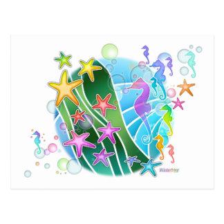 Postcard - Under The Sea Pop Art