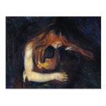Postcard: Vampire by Edvard Munch