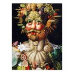 Postcard: Vertumnus (Portrait of Rudolf II)