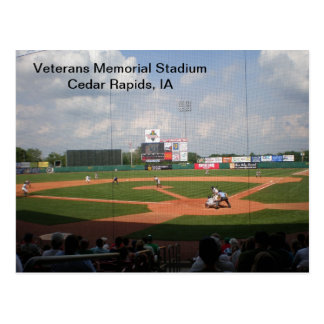 Postcard - Veterans Memorial Stadium - 2011-02