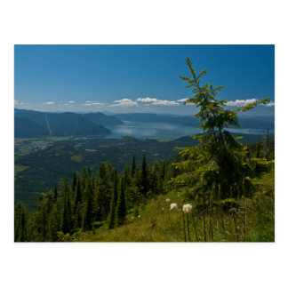 POSTCARD ~ View of Clark Fork from Scotchman Peak