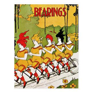 Postcard: Vintage Advertising - Bicycle Bearings Postcard