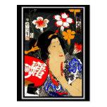 Postcard Vintage Asian Art Postcards