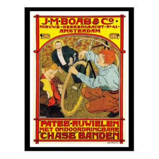 Postcard: Vintage bicycle advertising art Postcard