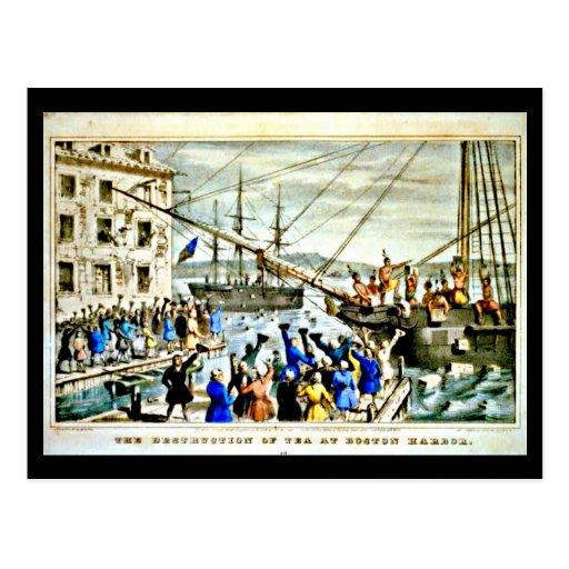 Postcard-Vintage Boston Art-20