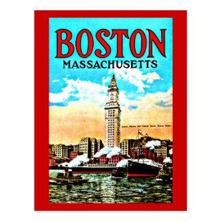 Postcard-Vintage Boston Artwork-34