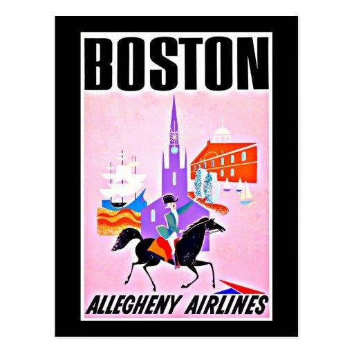 Postcard-Vintage Boston Artwork-35 Postcard