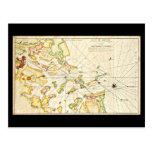 Postcard-Vintage Boston Maps-11