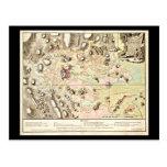 Postcard-Vintage Boston Maps-13