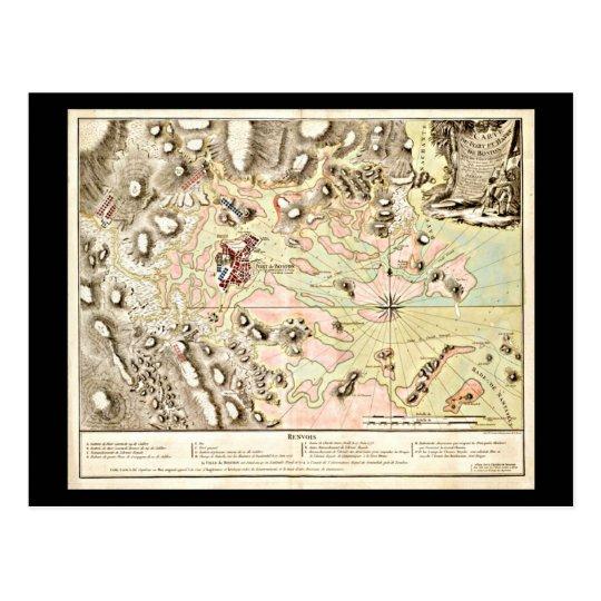 Postcard-Vintage Boston Maps-13 Postcard