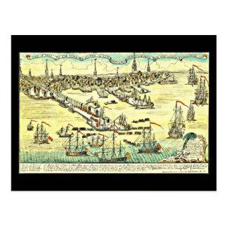 Postcard-Vintage Boston Maps-17 Postcard