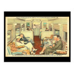 Postcard-Vintage Chicago Travel Art-1 Postcard