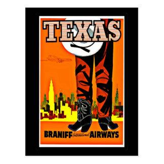Postcard-Vintage Dallas Artwork-14 Postcard