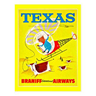 Postcard-Vintage Dallas Artwork-17 Postcard