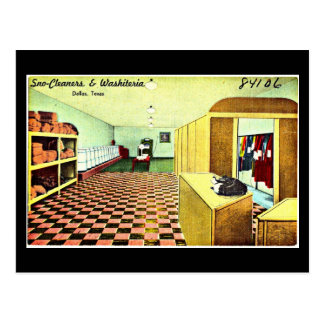 Postcard-Vintage Dallas Artwork-21 Postcard