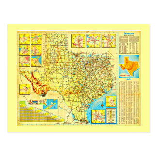 Postcard-Vintage Dallas Artwork-22 Postcard