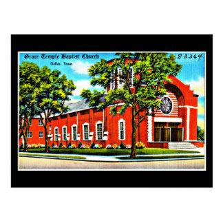 Postcard-Vintage Dallas Artwork-4