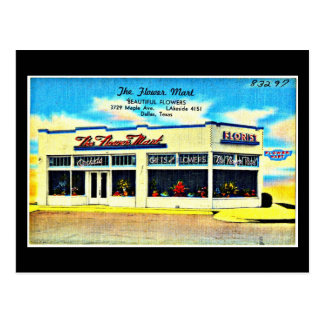 Postcard-Vintage Dallas Artwork-48 Postcard