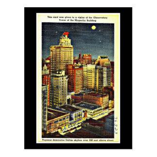 Postcard-Vintage Dallas Artwork-52 Postcard
