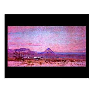 Postcard-Vintage Dallas Artwork-Frank Reaugh 13 Postcard