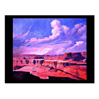 Postcard-Vintage Dallas Artwork-Frank Reaugh 9 Postcard