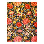Postcard-Vintage Fabric/Fashion-William Morris 17