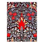 Postcard-Vintage Fabric/Fashion-William Morris 23