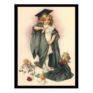 Postcard VINTAGE Graduation Design for Invitation