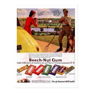 Postcard-Vintage Gum