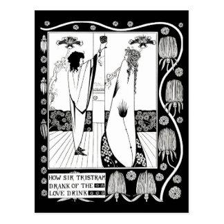 Postcard-Vintage Illustration-Aubrey Beardsley 10 Postcard